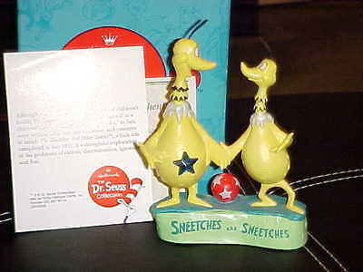 Hallmark Dr. Seuss The Sneetches Figurine Mint With Box 1st Edition