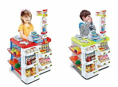 Kids Role Play Superstore Shop Toy Children Supermarket in Two Colours