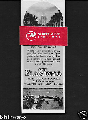 The Flamingo Hotel Miami Beach Revel Or Rest On 12 Tropical Acres 1940 Ad