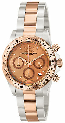 Invicta 6933 Men's Two Tone Rose Gold Speedway Chronograph Watch