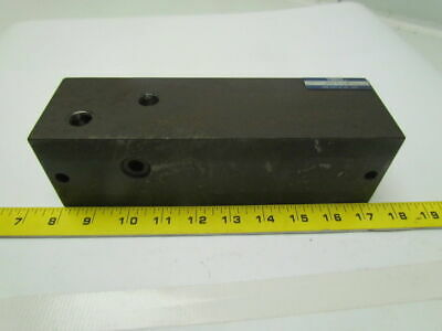 Yuken MMC-01-4-40 Hydraulic Manifold Distrbution Block From Okuma