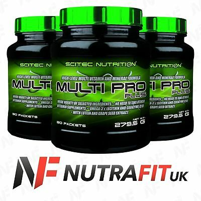 SCITEC NUTRITION MULTI PRO PLUS 30 packets multi vitamin and mineral formula