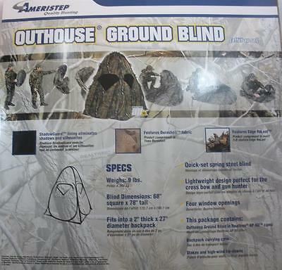 Ameristep 10300 Outhouse Portable Blind 18130
