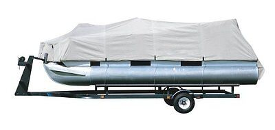 PyleSports PCVHP440 Armor Shield Pontoon Boat Cover 17'-20'L Beam Width to 96''