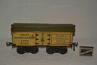 Bing Swift Refrigerator Line 7300 Spur 1 Swift `s Premium Hams Antique Wagon