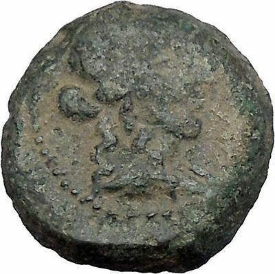 ANTIOCHOS IX Kyzikenos 108BC Seleukid Apollo Artemis Ancient Greek Coin i50378