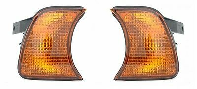2 CLIGNOTANTS AVANT AMBER BMW SERIE 5 E34 BREAK 520 i 12/1987-01/1997