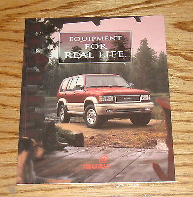 Original 1996 Isuzu Full Line Foldout Sales Brochure 96 Rodeo Trooper