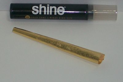 Shine 24K Gold Cone Midas King size pre-rolled