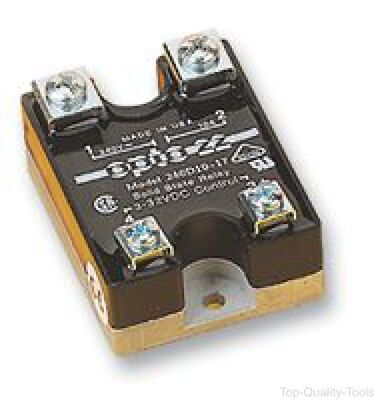 Solid State Relay, 25 A, 530 VAC, Panel, Screw, DC Switch
