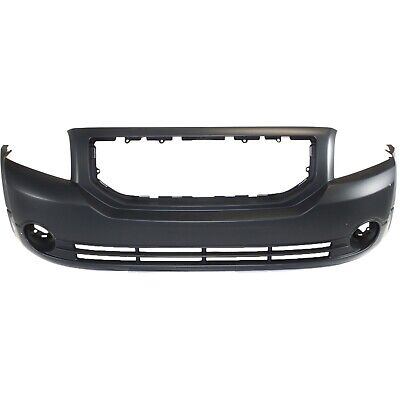 Front Bumper Cover For 2007-2012 Dodge Caliber w/ fog lamp holes Primed CAPA