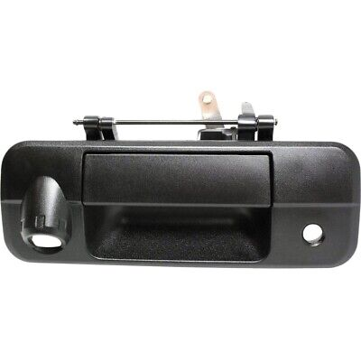 Tailgate Handle For 2007-2013 Toyota Tundra with Rear Camera Hole Textured Black