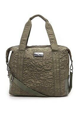 Adidas By Stella McCartney Women's Small Qulited Gym Bag Tote Holdall - Cargo