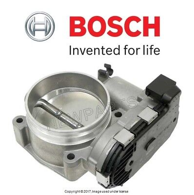 For Porsche 911 Boxster 74mm Fuel Injection Throttle Valve Assy Body OEM Bosch