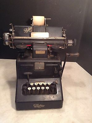 Circa 1920 Antique Dalton Adding Calculating Calculator Machine Cinncinati, Ohio