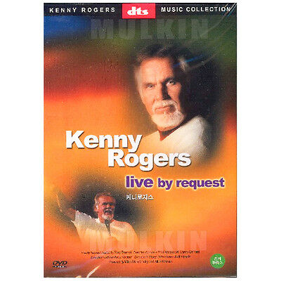 KENNY ROGERS - Live by Request dts DVD (*New *Sealed *All Region)