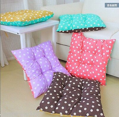 Square Dot Cotton Seat Cushion Buttocks Chair Cushion Pads For Home Office Decor