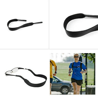Spectacle Glasses Sunglasses Neoprene Stretchy Sports Band Strap Cord Holder GO