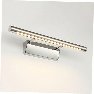 Waterproof 7W LED Mirror Picture Wall Light 5050 Bathroom Strip Bar Lamp Home GO