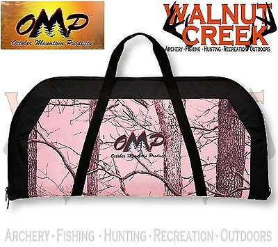 "OMP Pink Camo and Black 36"" Soft Compound Bow Case 60887"