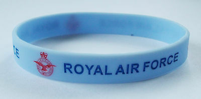 Royal Air Force (Raf) Silicone Wristband - Debossed