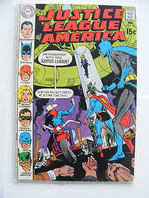 Justice League Of America #78 1St Sa Vigilante! Dc Comics Cents Copy