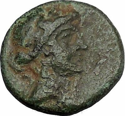 ANTIOCHOS IX Kyzikenos 108BC Seleukid Apollo Artemis Ancient Greek Coin i50479