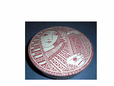 "Nymolle Denmark ""decamerone"" 3375-354 Jacob Bang Ceramic Candy/powder Dish"