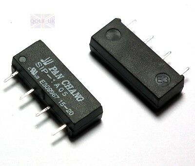 5pcs Perfect 5V Relay SIP-1A05 Reed Switch Relay for PAN CHANG Relay 4PIN