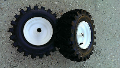 "2 - 7/8"" Wheels 13X500X6 Tires Rims Snowblower Snow Blower Thrower Snowthrower"