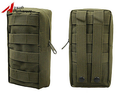 Tactical Military Molle Magazine Drop Pouch Medical First Aid Waist Bag Olive OD