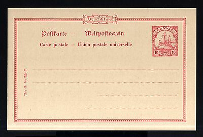 6789-GERMAN COLONY-UNUSED POSTCARD DEUTSCHES SAMOA.10 Pf.Germany.DEUTSCHES REICH