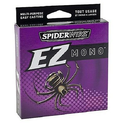 SPIDERWIRE EZ  MONO GREEN 220yd  SPOOL Various Breaking Strains
