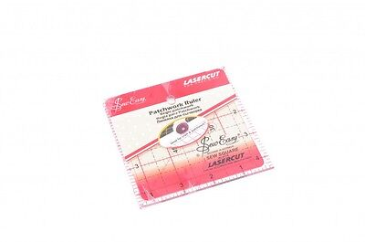 Sew Easy Patchwork Quilting Ruler - each (NL4176)