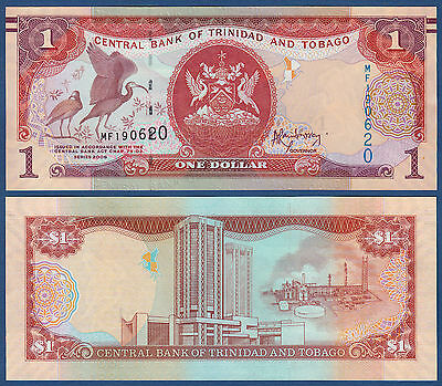 TRINIDAD & TOBAGO 1 Dollar 2006 (2013) UNC P.New