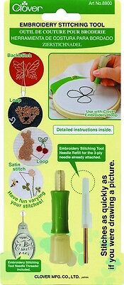 Clover Embroidery Stitching Tool - each (CL8800)