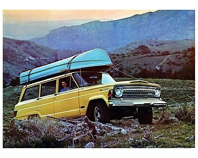1973 Jeep Wagoneer Photo Poster zca3717
