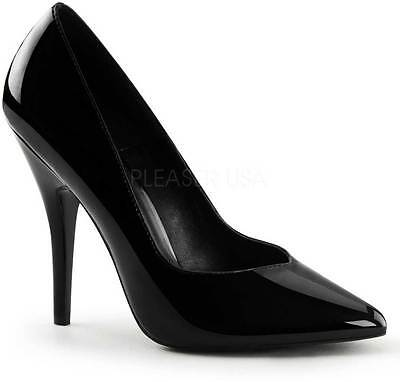 Classic Business Casual Pointed Toe Pumps Stiletto High Heels Shoes Adult Women