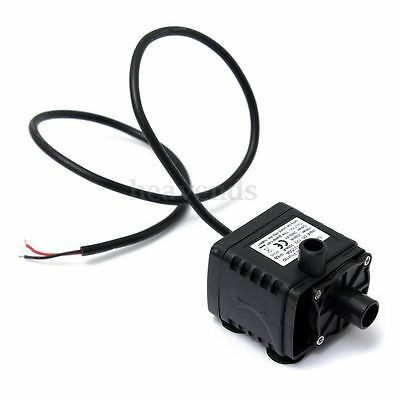 280L/H Mini Etanche Pompe à Eau Aquarium Fish Tank Waterpump 12V DC CPU Cooling