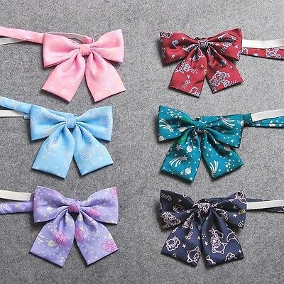 Preppy JK Uniform Bow Ties Japan Style Floral  Bowties Students Girls Gifts New