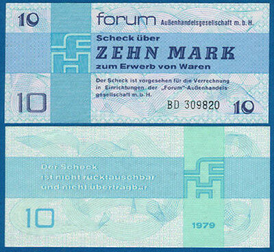 DDR 10 Mark Forum  fast KASSENFRISCH  Ro.370 / Pick FX4