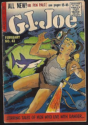 1956 Ziff Davis G.I. Joe #43 VG to FN
