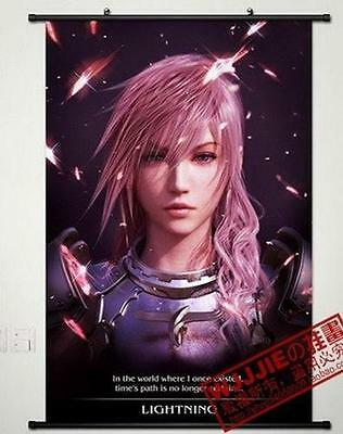 """Cosplay Home Decor Poster Wall Scroll 23.6""""x35.4"""" GB28 Anime Final Fantasy"""