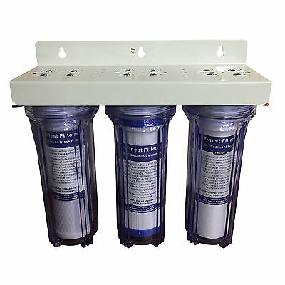 3 Stage HMA Unit Heavy Metal Reduction for Discus Pond Dechlorinator Pure Water