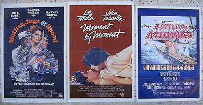 "Lot Of (31) 1sht  One sheet US Film movie poster 27x41"" Originals 60s & 70s."