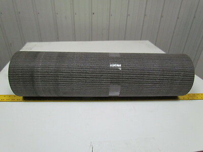 """Black smooth top PVC Rubber woven conveyor belt 11ft x 32""""x .200"""" thick"""