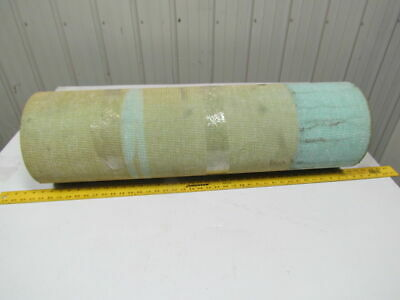 "1 ply green urethane smooth top woven back conveyor belt 10ft x 35-3/8"" x 3/16"""