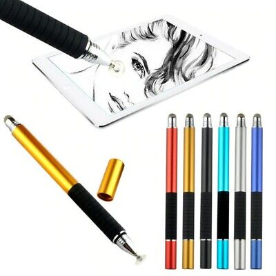 2 in1 Universal Capacitive Touch Screen Stylus Ballpoint Pen For iPhone iPad etc