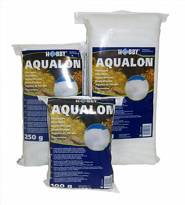 Hobby Aquarium Wool 100g 250g 500g 1000g 1kg Synthetic Filter Wool Polymer Media