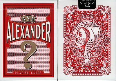 Ask Alexander Deck Playing Cards USPCC Poker Sized Limited Edition New & Sealed